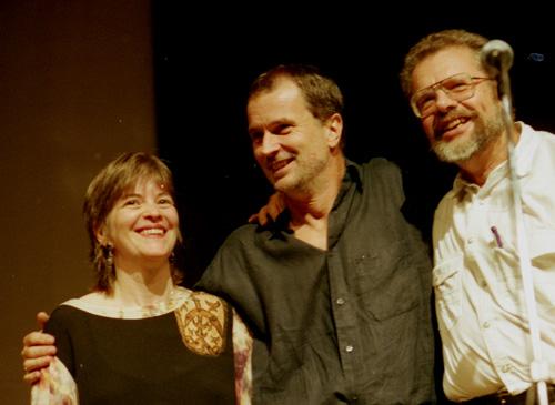 Lennart, Bobo & Marilyn. Foto: Gunnar Holmberg