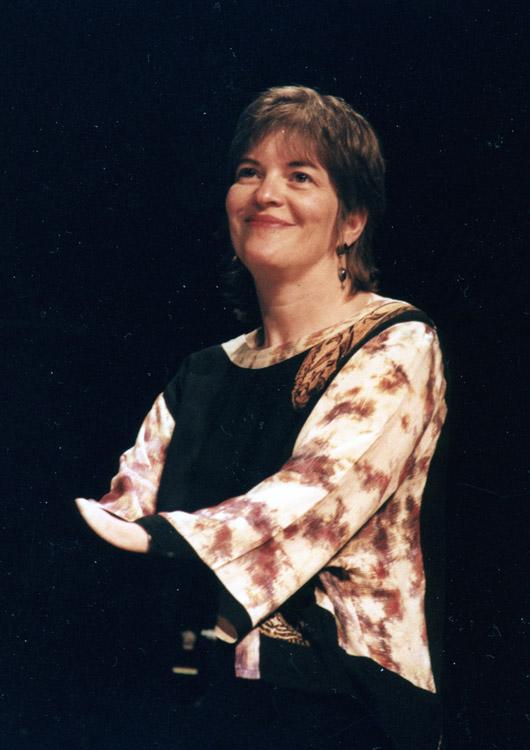 Marylin Crispell. Foto: Gunnar Holmberg